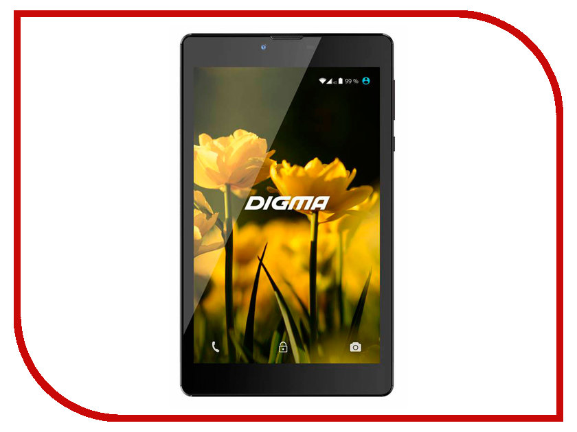 Планшет Digma Optima 7010D 3G (Spreadtrum SC7731 1.3 GHz/512Mb/8Gb/Wi-Fi/3G/Bluetooth/GPS/Cam/7.0/1280x800/Android)