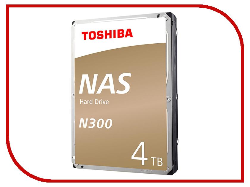 Жесткий диск 4Tb - Toshiba N300 HDWQ140UZSVA жесткий диск 4tb toshiba n300 hdwq140uzsva