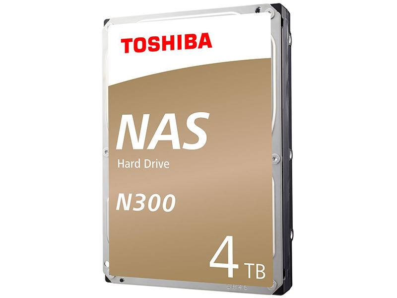 цена на Жесткий диск 4Tb - Toshiba N300 HDWQ140UZSVA