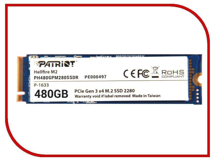 Жесткий диск 480Gb - Patriot Hellfire PH480GPM280SSDR  цена и фото