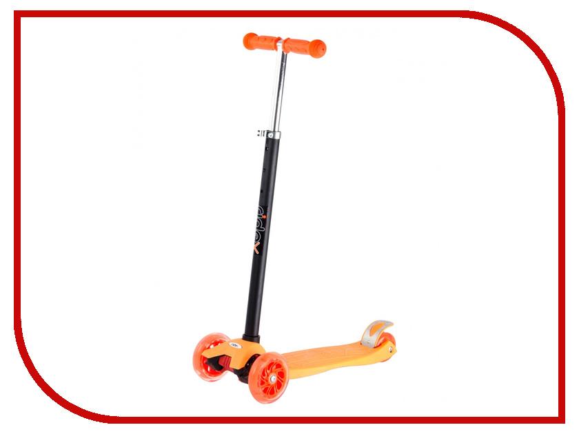 Самокат Ridex 3D Spark 120/80 Orange лонгборд ridex ridex relax