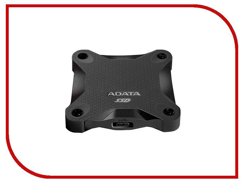 Жесткий диск A-Data SD600 256Gb ASD600-256GU31-CBK