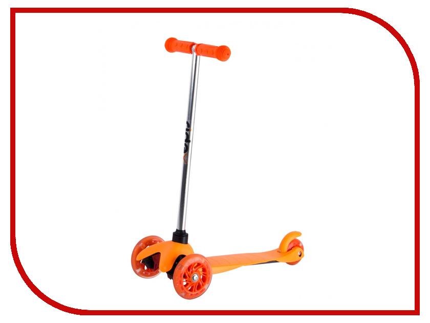 Самокат Ridex 3D Kinder 120/80 Orange цена