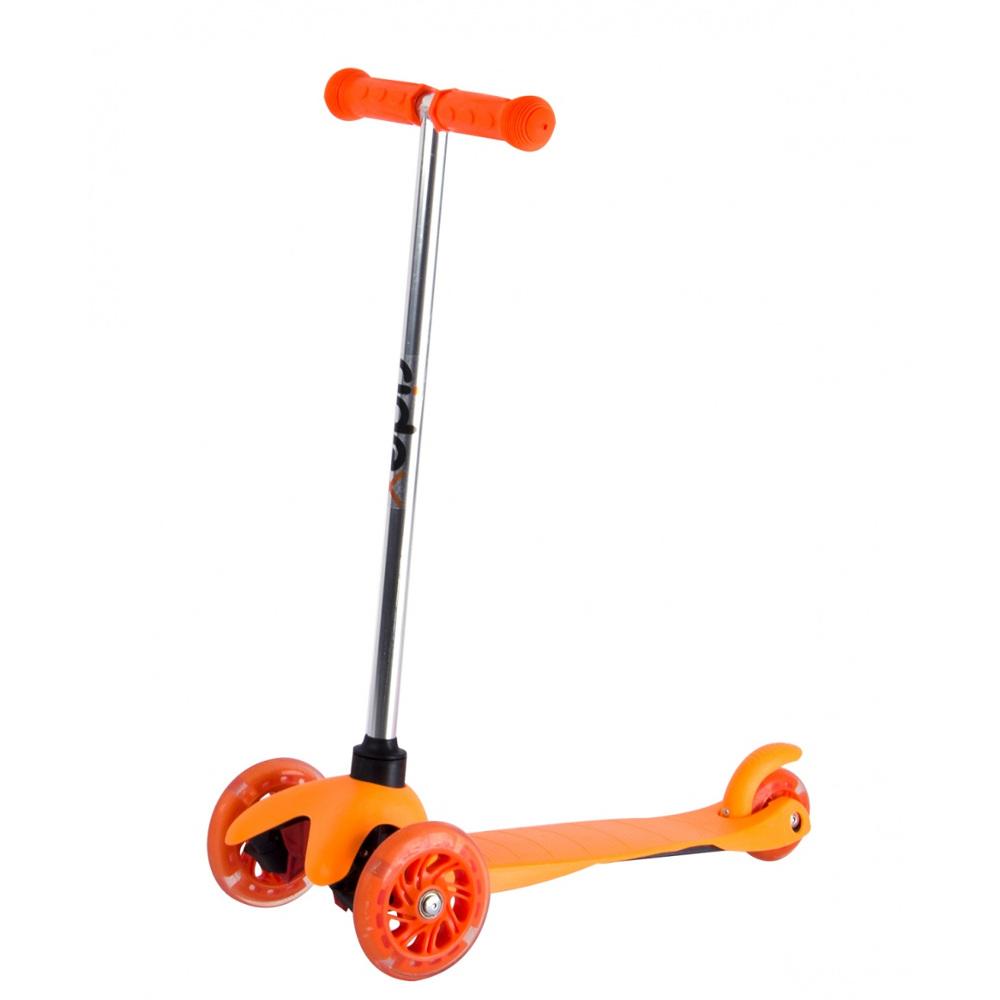 Самокат Ridex 3D Kinder 120/80 Orange