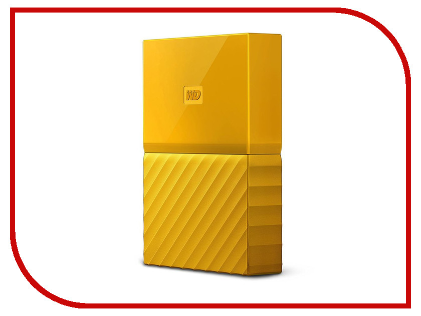 Жесткий диск Western Digital My Passport 1Tb WDBBEX0010BYL-EEUE