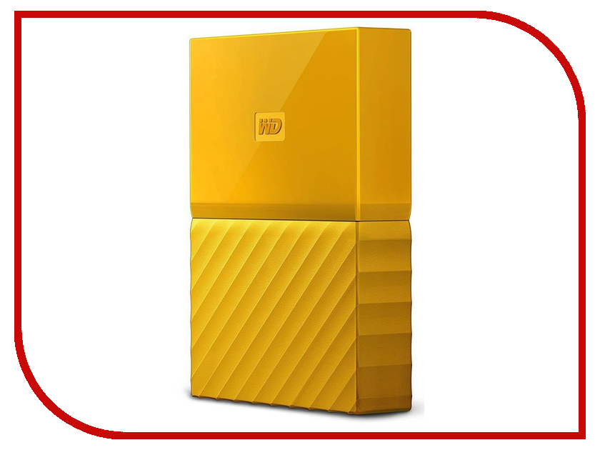 Жесткий диск Western Digital My Passport 2Tb Yellow WDBUAX0020BYL-EEUE жесткий диск пк western digital wd20ezrz 2tb wd20ezrz
