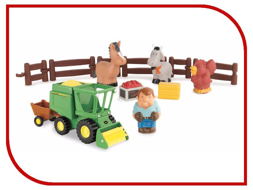 Игра Tomy Моя первая ферма, набор уборка урожая 43069 tomy шарпей шивер