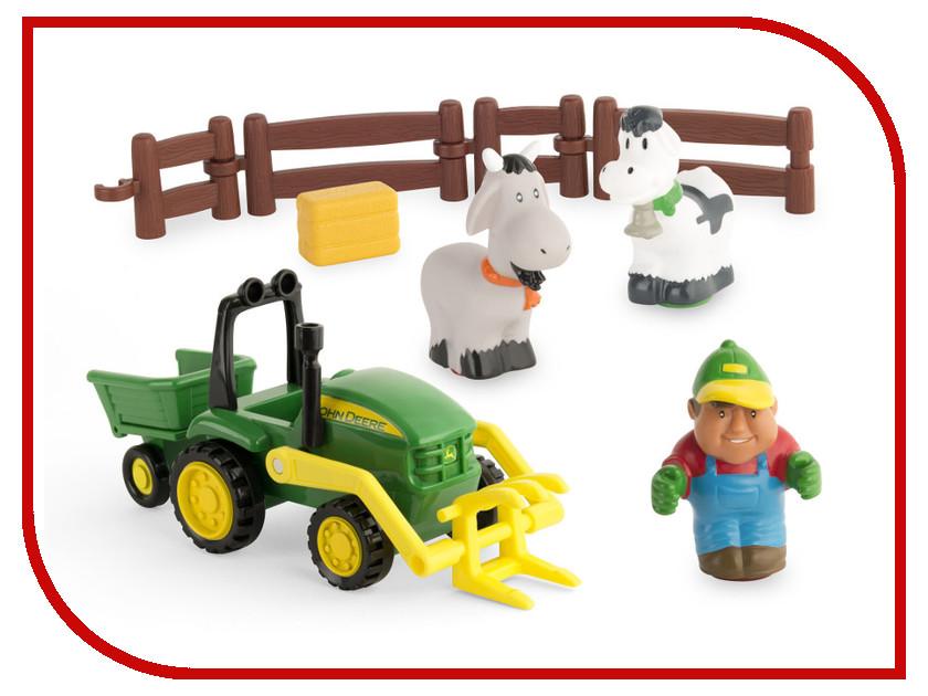 Игрушка Tomy Моя первая ферма, набор с погрузчиком 43068  vay 12004