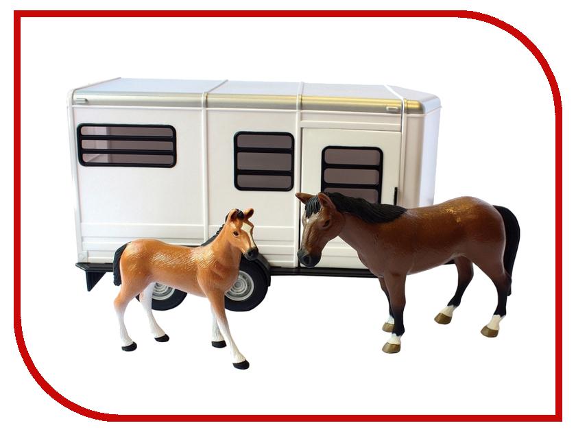Игра Tomy Прицеп для перевозки лошадей 42846RU tomy прицеп для перевозки лошадей с лошадью и жеребенком с 3 лет