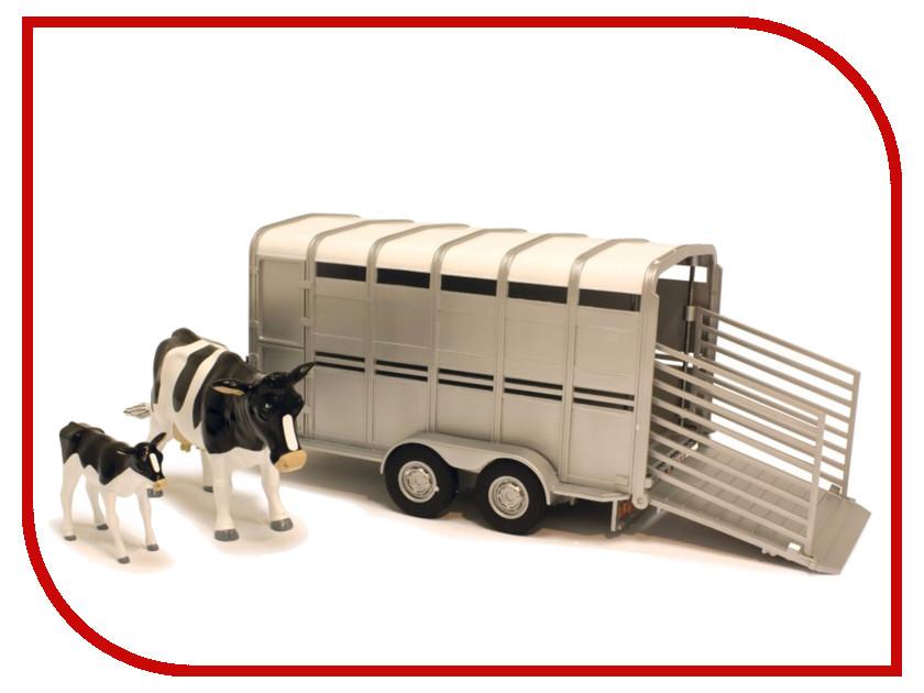 Игра Tomy Трейлер для перевозки животных 42709 tomy прицеп для перевозки лошадей с лошадью и жеребенком с 3 лет