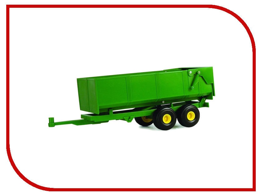 Игрушка Tomy Big Farm Bulk Tipping Trailer Green 42428 tomy прицеп для самосвала big farm bulk tipping trailer с 3 лет