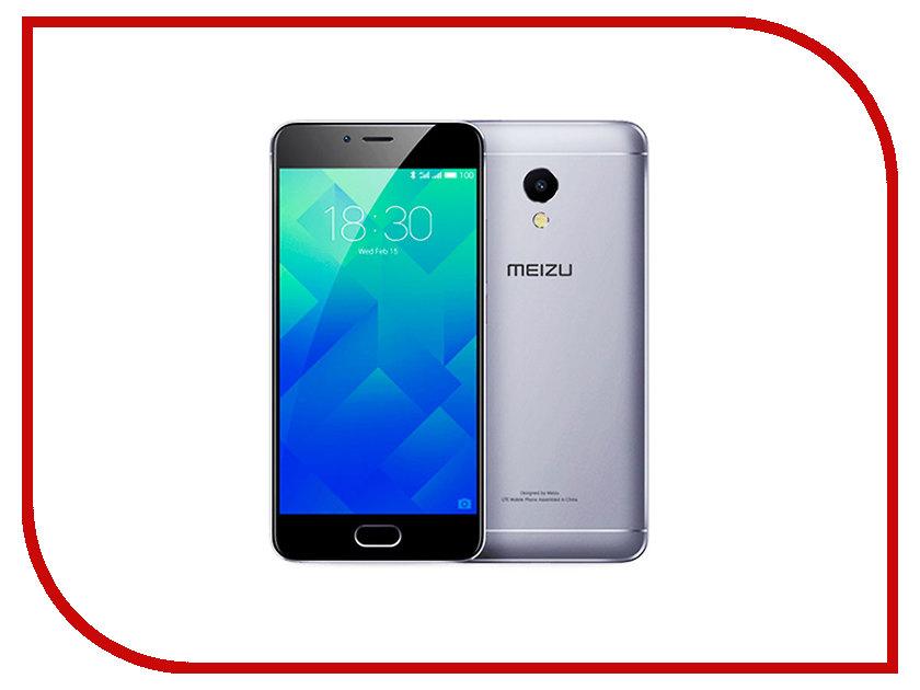 Сотовый телефон Meizu M5S 32Gb Grey сотовый телефон philips e311 xenium navy