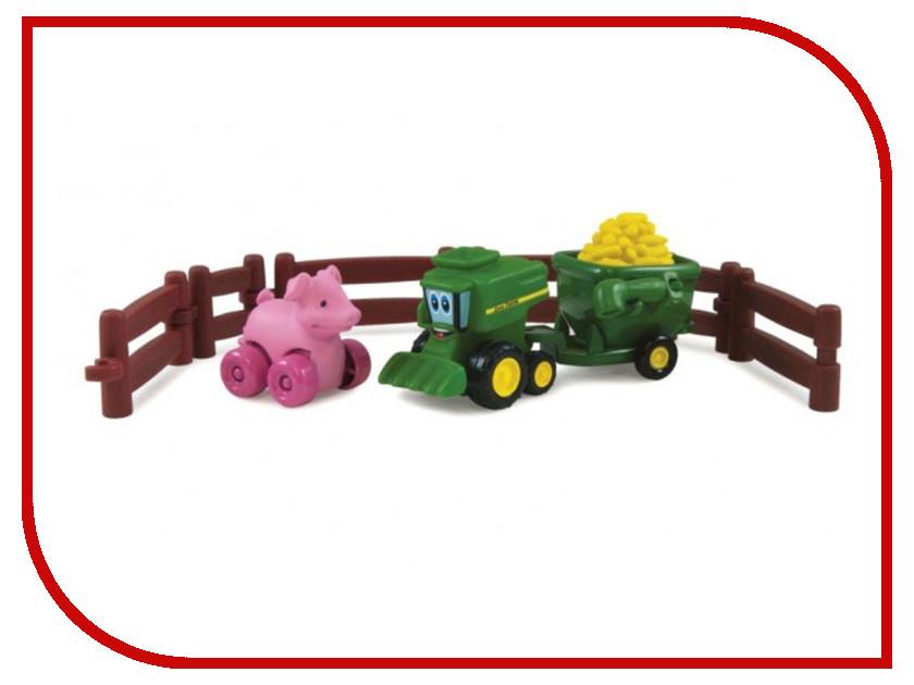Игра Tomy Приключения трактора Джонни и поросенка на ферме 37722-3 приключения поросенка фунтика