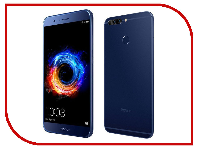 Сотовый телефон Huawei Honor 8 Pro Blue сотовый телефон huawei honor 8 pro gold