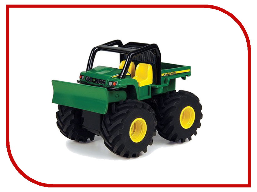 Машина Tomy John Deere Monster Treads 37650-3 машина tomy john deere mega monster wheels т11312
