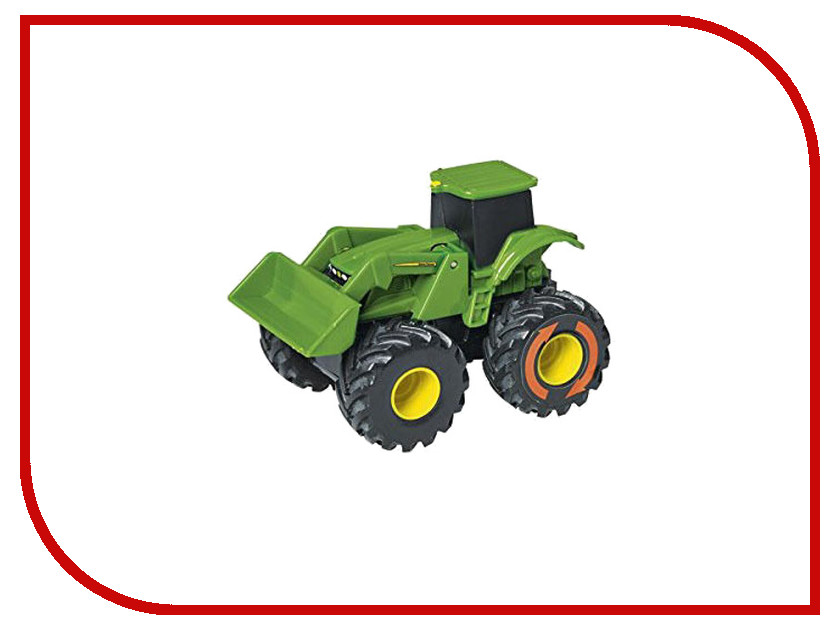 Машина Tomy John Deere Monster Treads 37650-2 машина tomy john deere mega monster wheels т11312