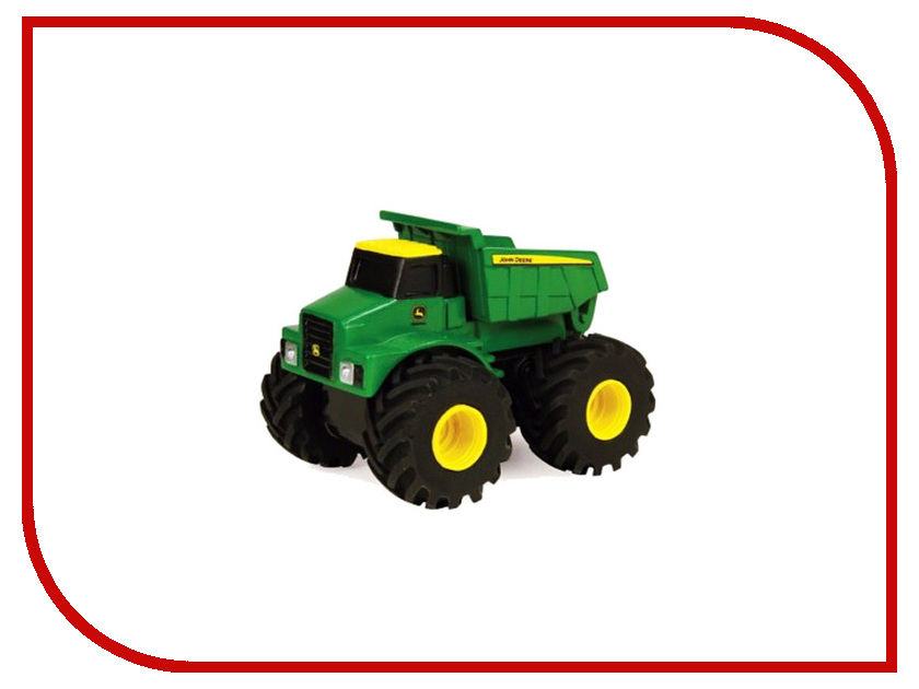 Машина Tomy John Deere Monster Treads 37650-1 машина tomy john deere mega monster wheels т11312