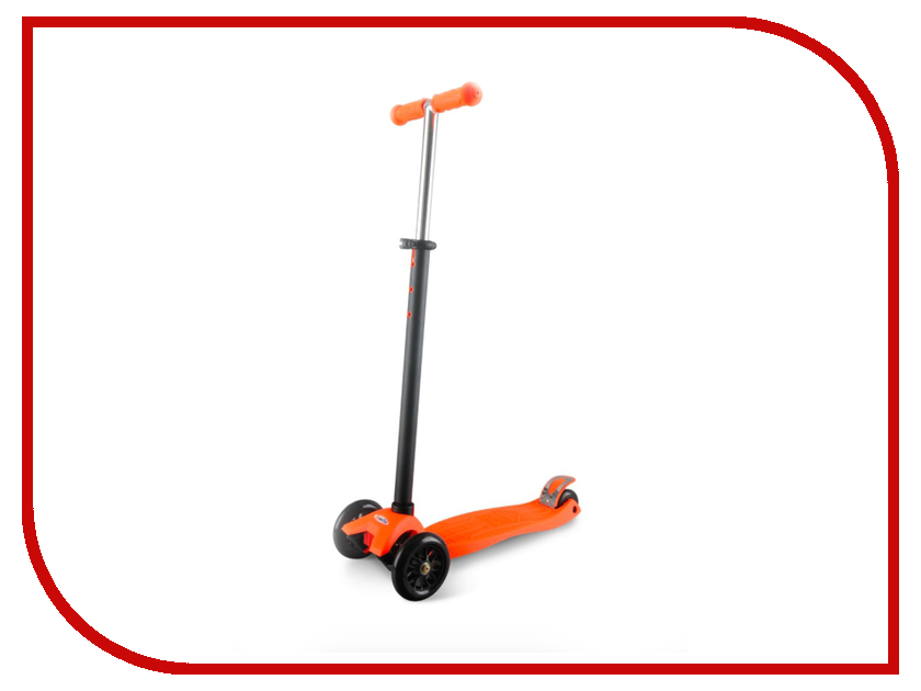 Самокат Sweet Baby Triplex Maxi Orange 378477 самокаты sweet baby самокат 4 х колесный sweet baby triplex maxi blue складной