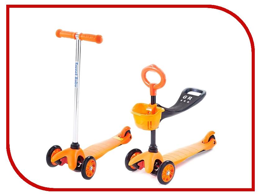 Купить Самокат Sweet Baby Triplex Seat Orange 314076