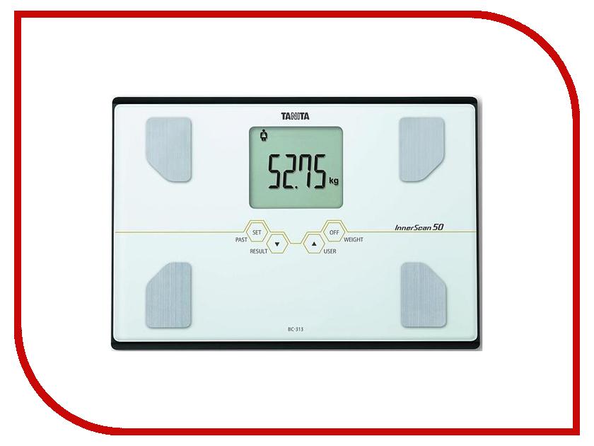 Весы напольные Tanita BC-313 White весы напольные tanita bc 532