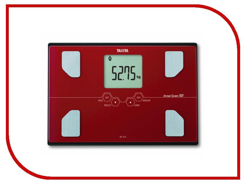 Весы напольные Tanita BC-313 Red какой фирмы напольные весы лучше купить