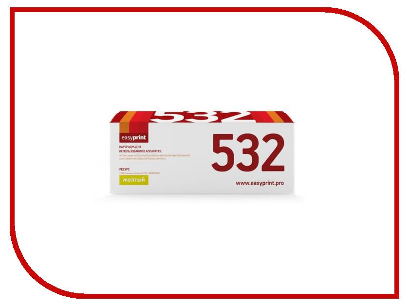 Картридж EasyPrint LH-532A U для HP CLJ CP2025/M451/M476/LBP7200Cdn 718Y Yellow с чипом leberg lh 85bk black