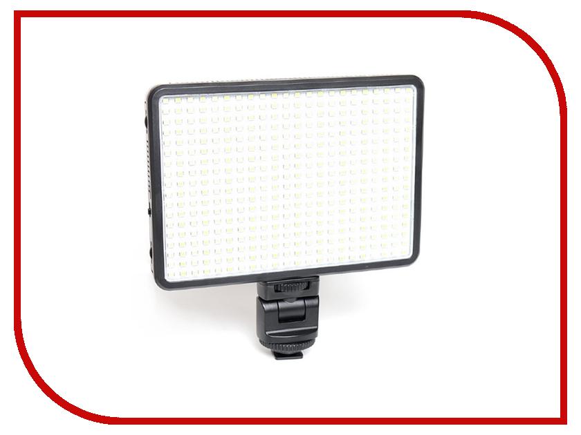 Накамерный свет Fujimi FJ-SMD396A + NP-F550/NP-F970 светофильтры fujimi