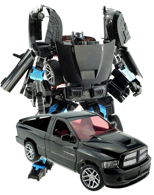 Игрушка Город игр Робот трансформер Пикап XXL D636826 город игр робот трансформер спорткар