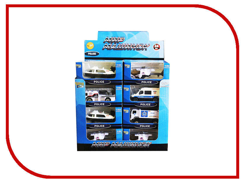 Машина Город игр Мир машинок Полиция GI-6435