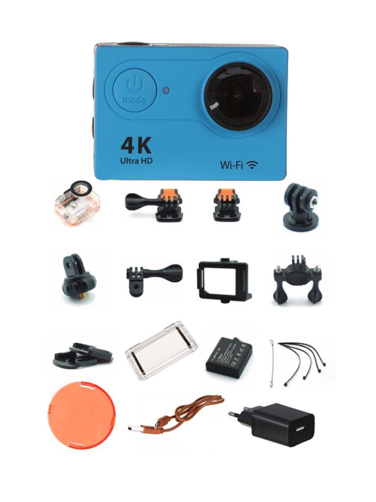 лучшая цена Экшн-камера EKEN H9 Ultra HD Blue