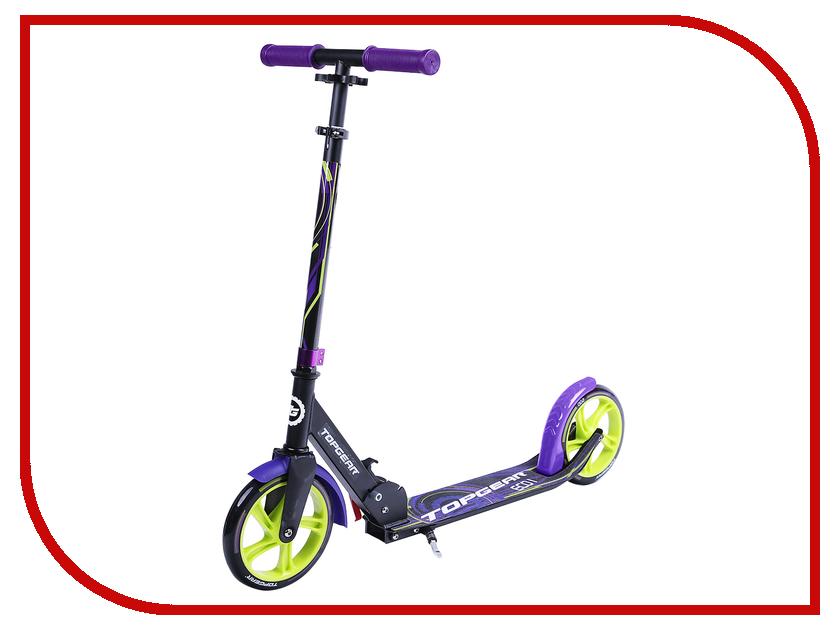 Самокат Top Gear Eco I Black-Purple Т59741