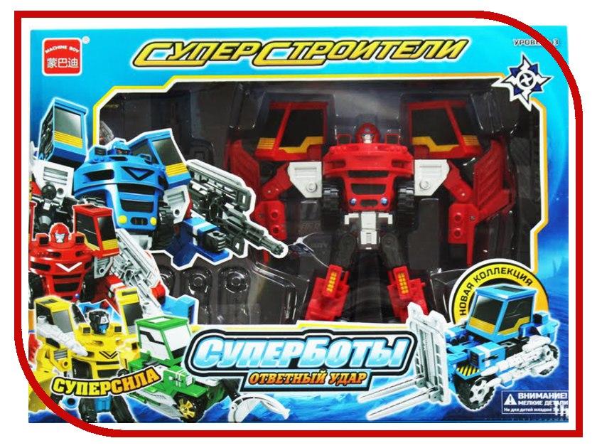 Игрушка Город игр Робот трансформер Погрузчик с пушкой XXL D819653