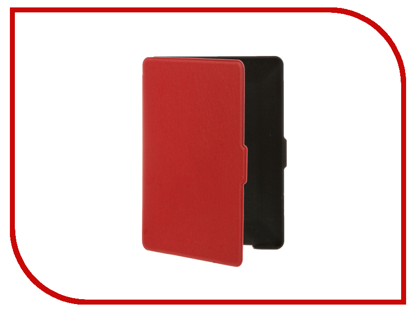 Аксессуар Чехол for Reader Book 1 TehnoRim Slim Red TR-RB1-SL01RD аксессуар чехол for pocketbook 626 tehnorim origami black tr pb626 or01bl