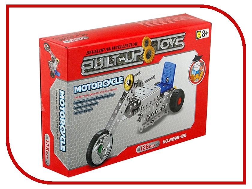 Конструктор Город игр Мотоцикл W698-126 конструктор enlighten brick город 111 центр спасения мчс г13594