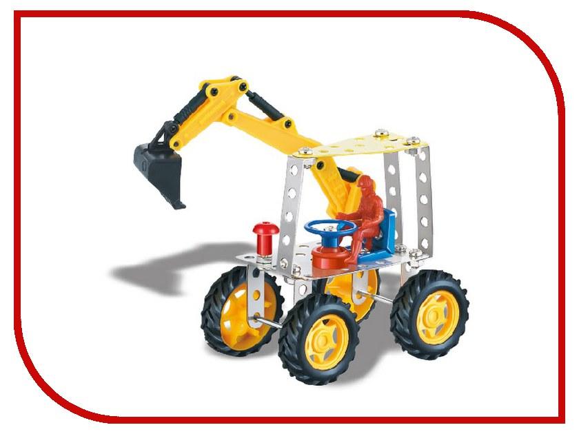 Конструктор Город игр Трактор с ковшом W698-35 трактор с ковшом пламенный мотор зелёный от 6 лет пластик 87575