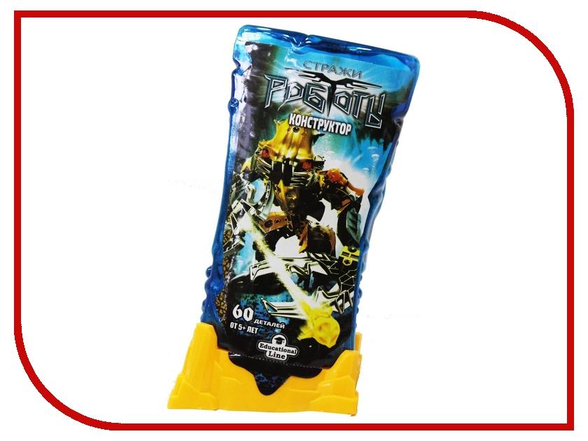 Конструктор RoboBlock Yellow Warrior M MF009039ZN9494 конструктор funny line roboblock космолет xl n09701
