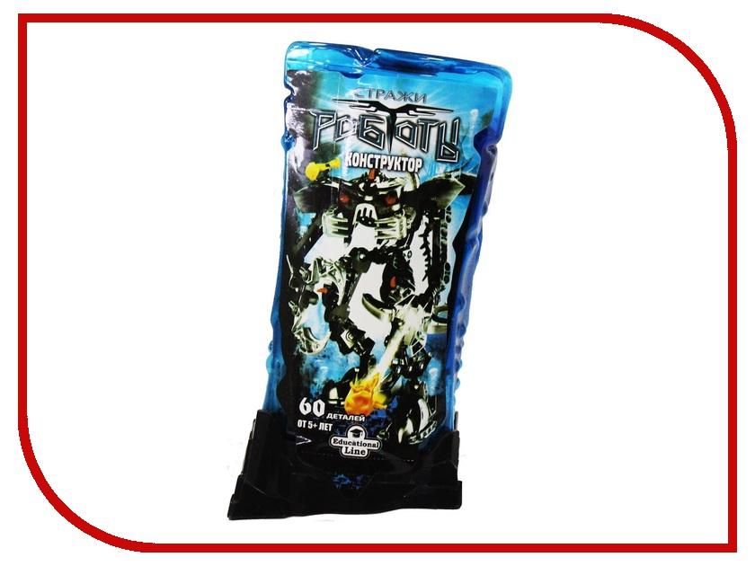 Конструктор RoboBlock Black Warrior M MF000421ZN9495 конструктор funny line roboblock космолет xl n09701