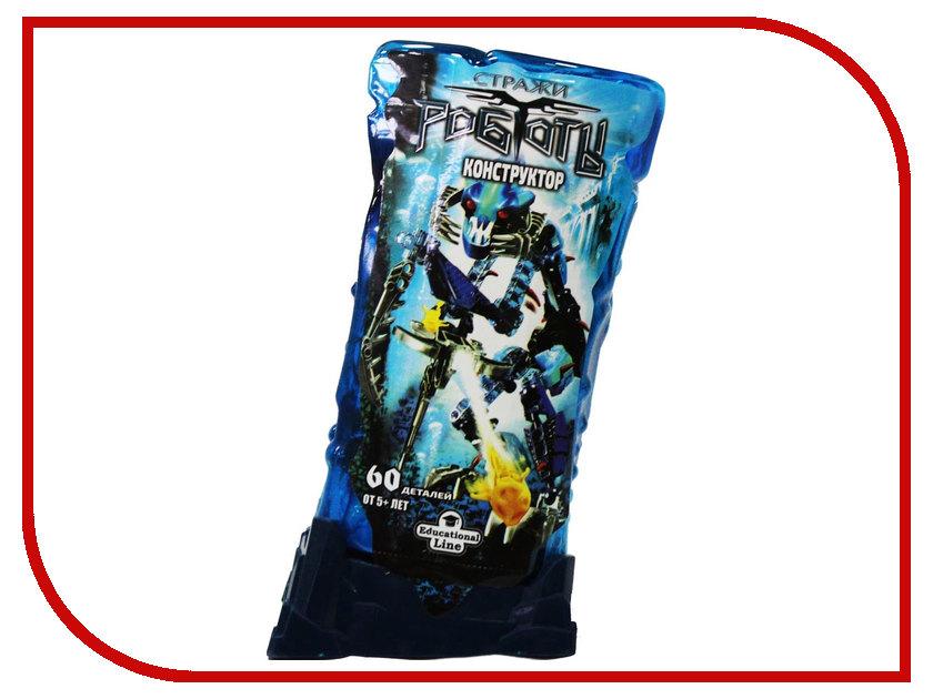 Конструктор RoboBlock Blue Warrior M MF002942ZN9491 конструктор funny line roboblock космолет xl n09701