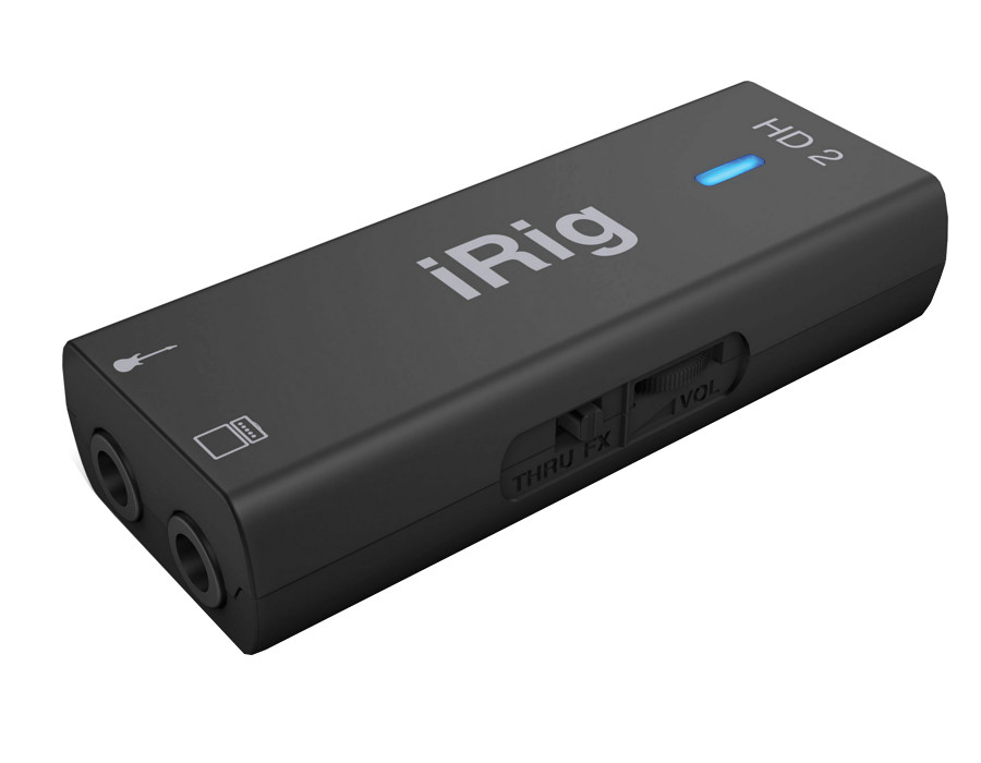 Аудиоинтерфейс IK Multimedia iRig HD 2 IP-IRIG-HD2-IN