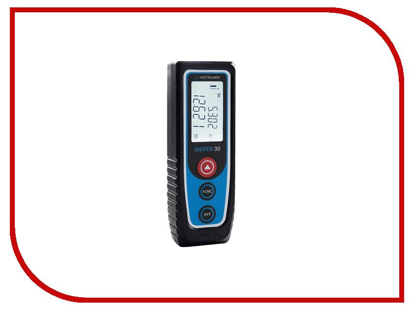 Дальномер Instrumax SNIPER 30 IM0115 лазерная рулетка instrumax sniper 30 im0115