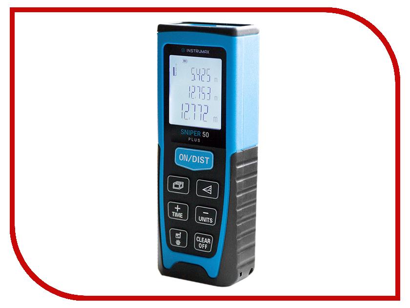 Дальномер Instrumax SNIPER 50 PLUS IM0116 лазерная рулетка instrumax sniper 30 im0115