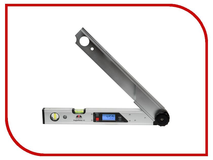 Угломер ADA AngleMeter 45 А00408 уровень угломер электронный ada pro digit rumb а00481