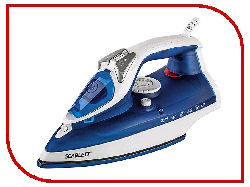 Утюг Scarlett SC-SI30E01 Blue-White утюг scarlett sc si30e01