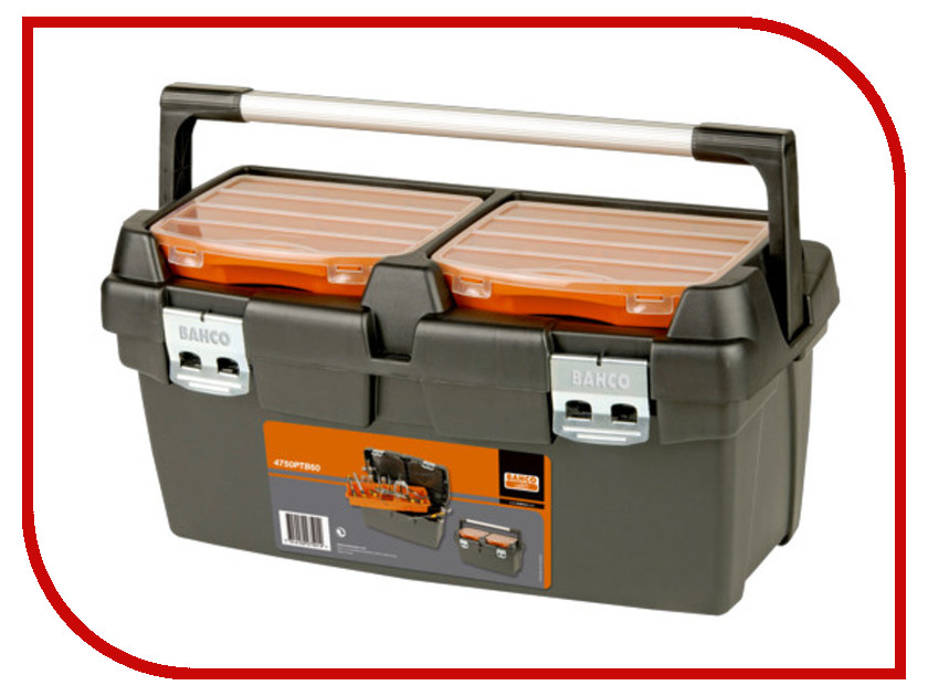 Ящик для инструментов Bahco 600x305x295mm 4750PTB60