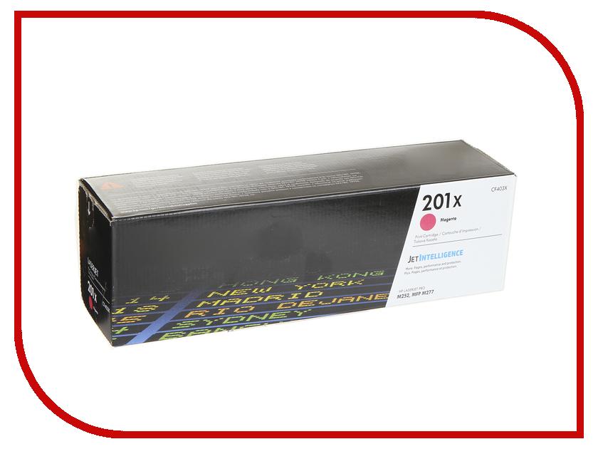 Картридж HP 201X CF403X Magenta для CLJ Pro M252/M277 картридж t2 cf403x для hp clj pro m252n m252dw m277n m277dw пурпурный 2300стр tc hcf403x