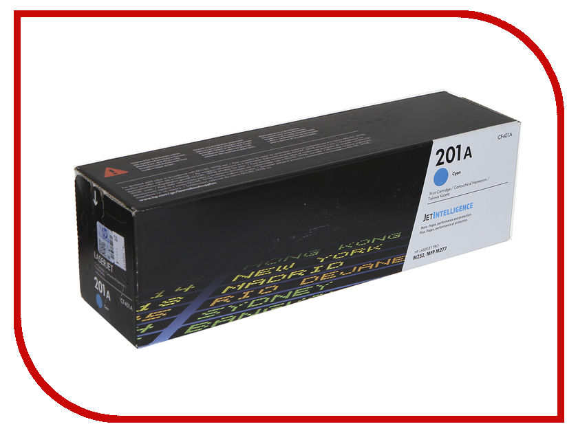 Картридж HP 201A CF401A Cyan для CLJ Pro M252/M277 картридж hp cf401a 1500 стр