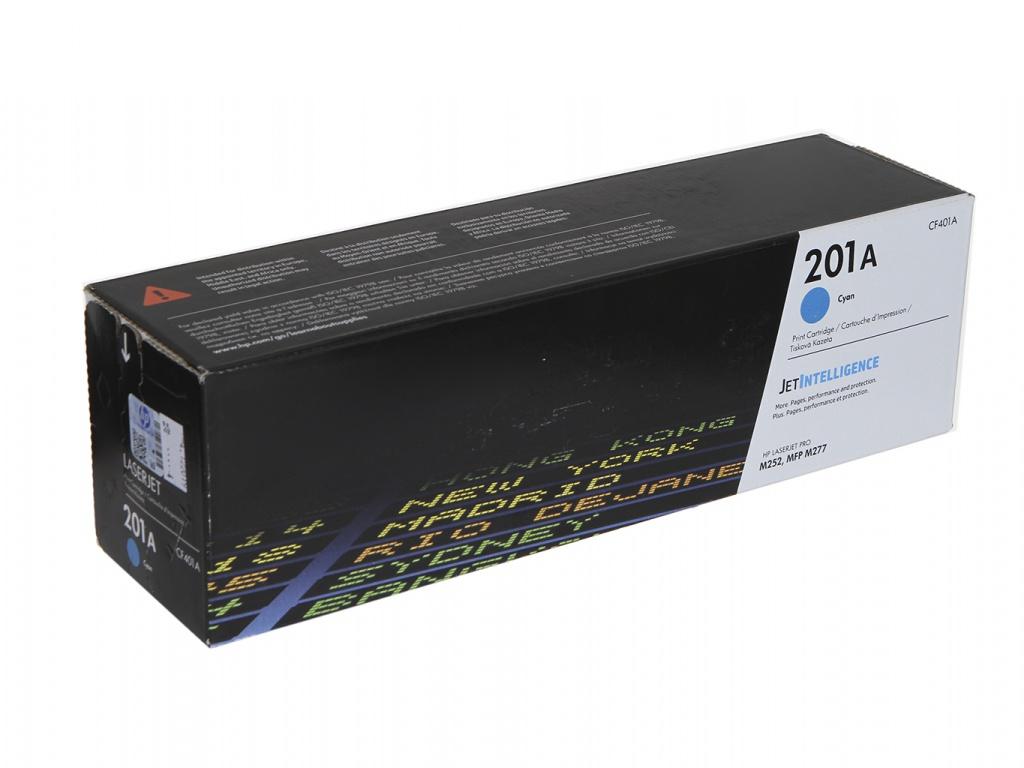 Картридж HP 201A CF401A Cyan для CLJ Pro M252/M277 картридж boost cf400x v9 0 для hp clj m252 m274 black
