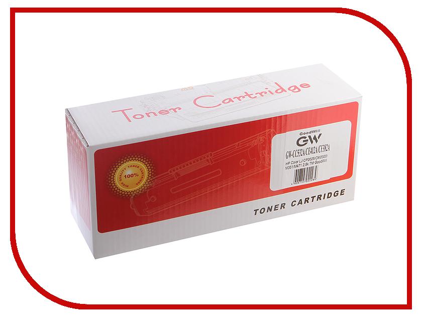 Картридж GoodWill GW-CC532A/CE412A/CF382A Yellow для HP Color LJ CP2025/CM2320/M351/M471/M476/M475 2.8K supra cgs 532