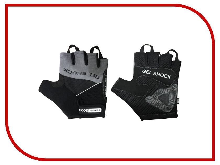 Перчатки для фитнеса Ecos 2117-GRM размер М