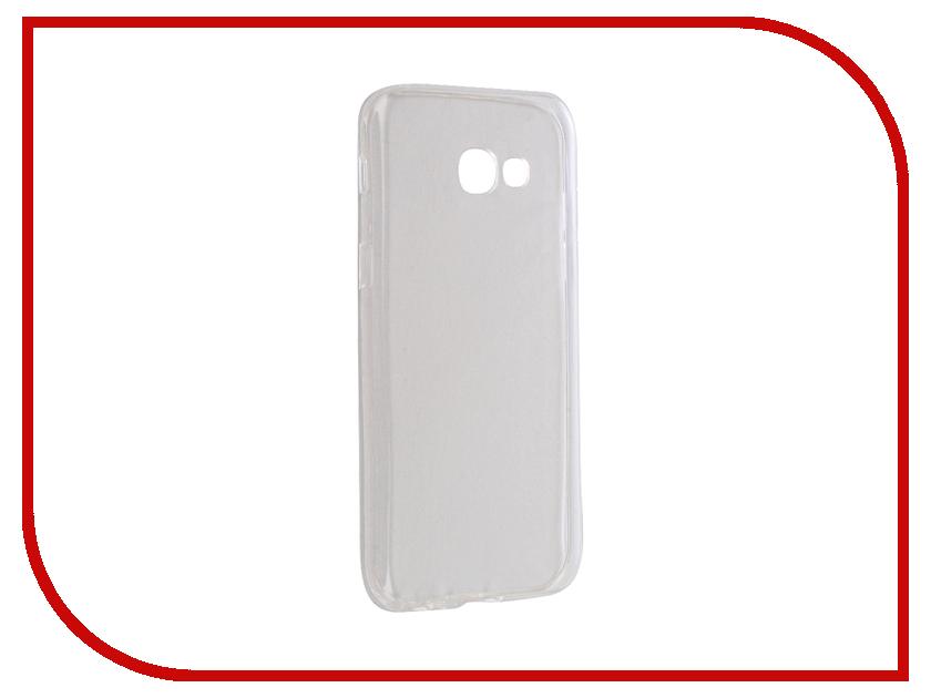 Аксессуар Чехол Samsung Galaxy A5 2017 SM-A520F Krutoff Silicone Transparent 11792 samsung galaxy a5 2016 sm a510f black